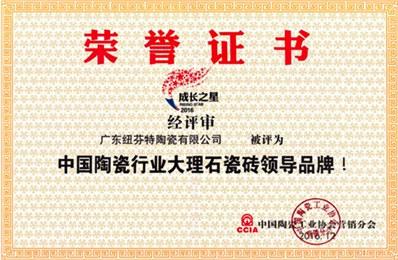 中國陶瓷行業大理石瓷磚