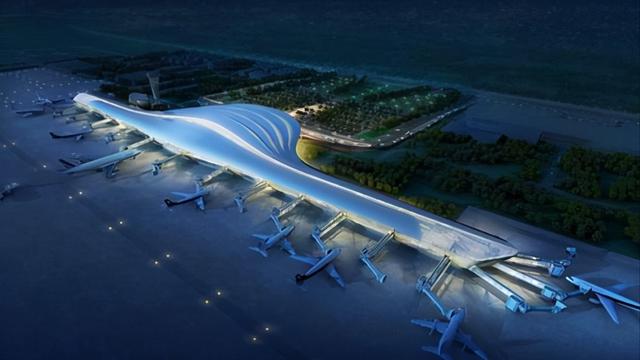 与国际接轨,欧陆美居头头体育吊顶应用于山东烟台蓬莱国际机场