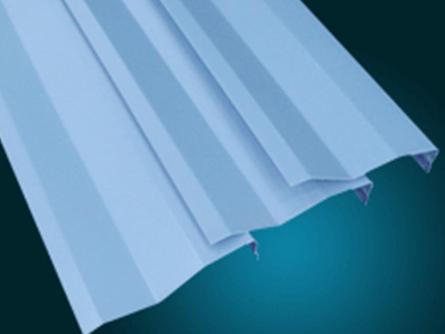 J型-滴水叶片天花-全屋整装叶片天花天花|幕墙效果图