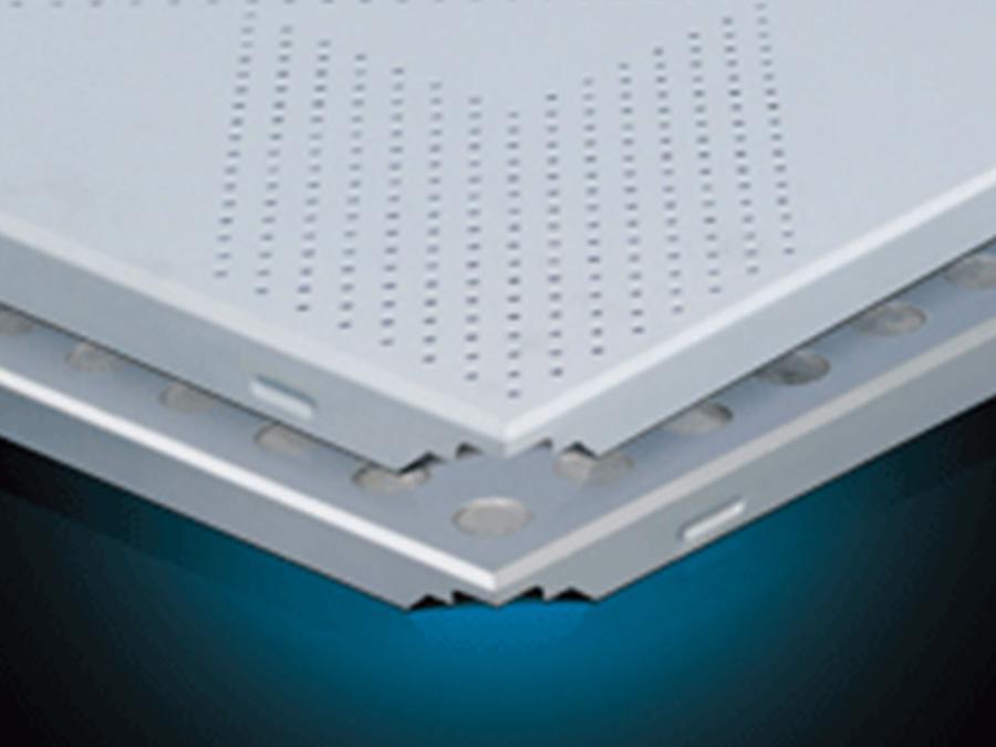 冲孔天花 非标铝板系列 天花吊顶-全屋整装非标铝板系列效果图