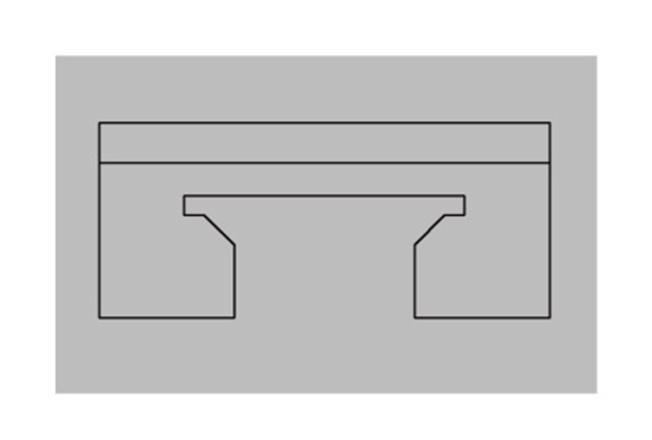 吸顶龙骨挂件-全屋整装集成配件效果图