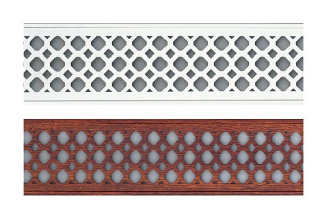雕刻3D梁装饰灯条-全屋整装集成配件效果图