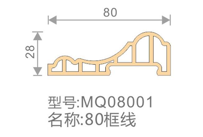 80框线-MQ08001-全屋整装集成墙面效果图