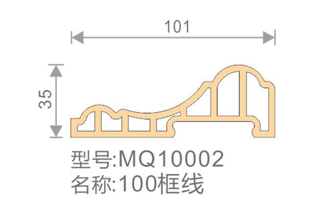 100框线-MQ10002-全屋整装集成墙面效果图