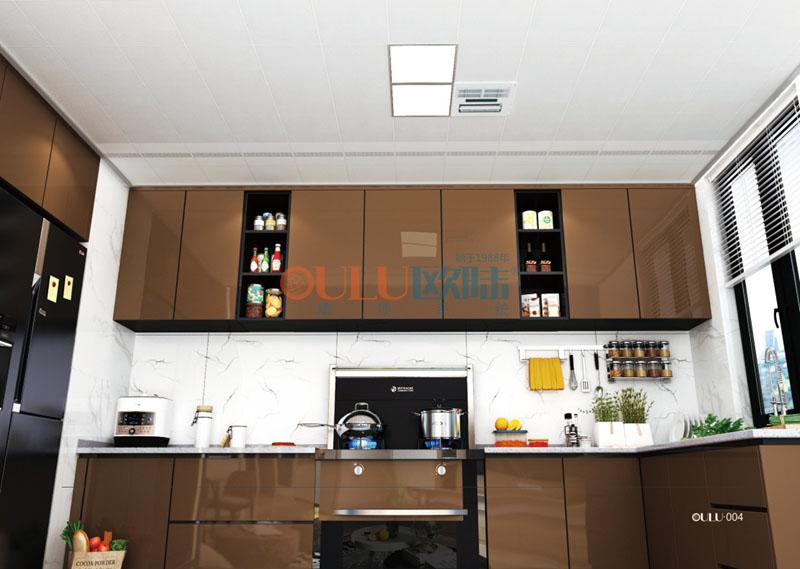 塞上米兰 负离子抗菌系吊顶 列厨房吊顶-全屋整装厨房吊顶效果图
