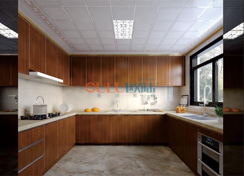 锦官新城、水悦城邦系列 厨房吊顶-全屋整装厨房吊顶效果图
