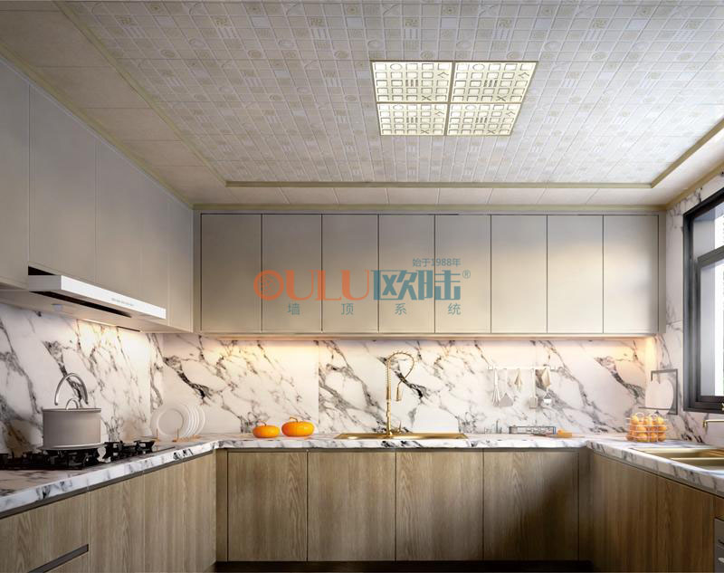 新欧式 花样倾城系列 厨房吊顶-全屋整装厨房吊顶效果图