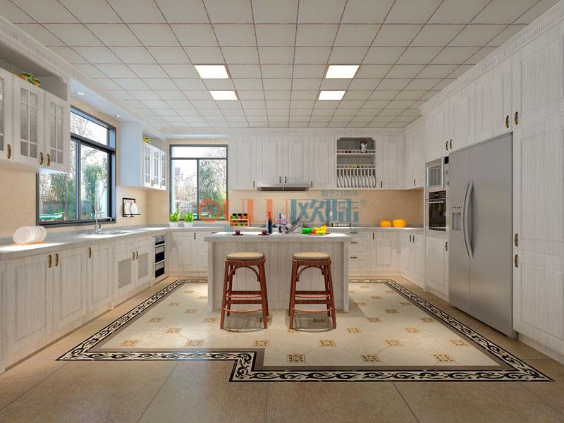 地中海海岸之恋系列 厨房吊顶-全屋整装厨房吊顶效果图