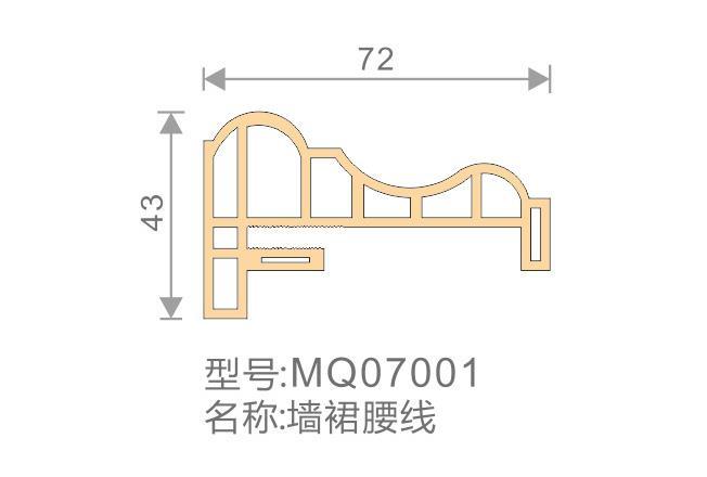 墙裙腰线-MQ07001
