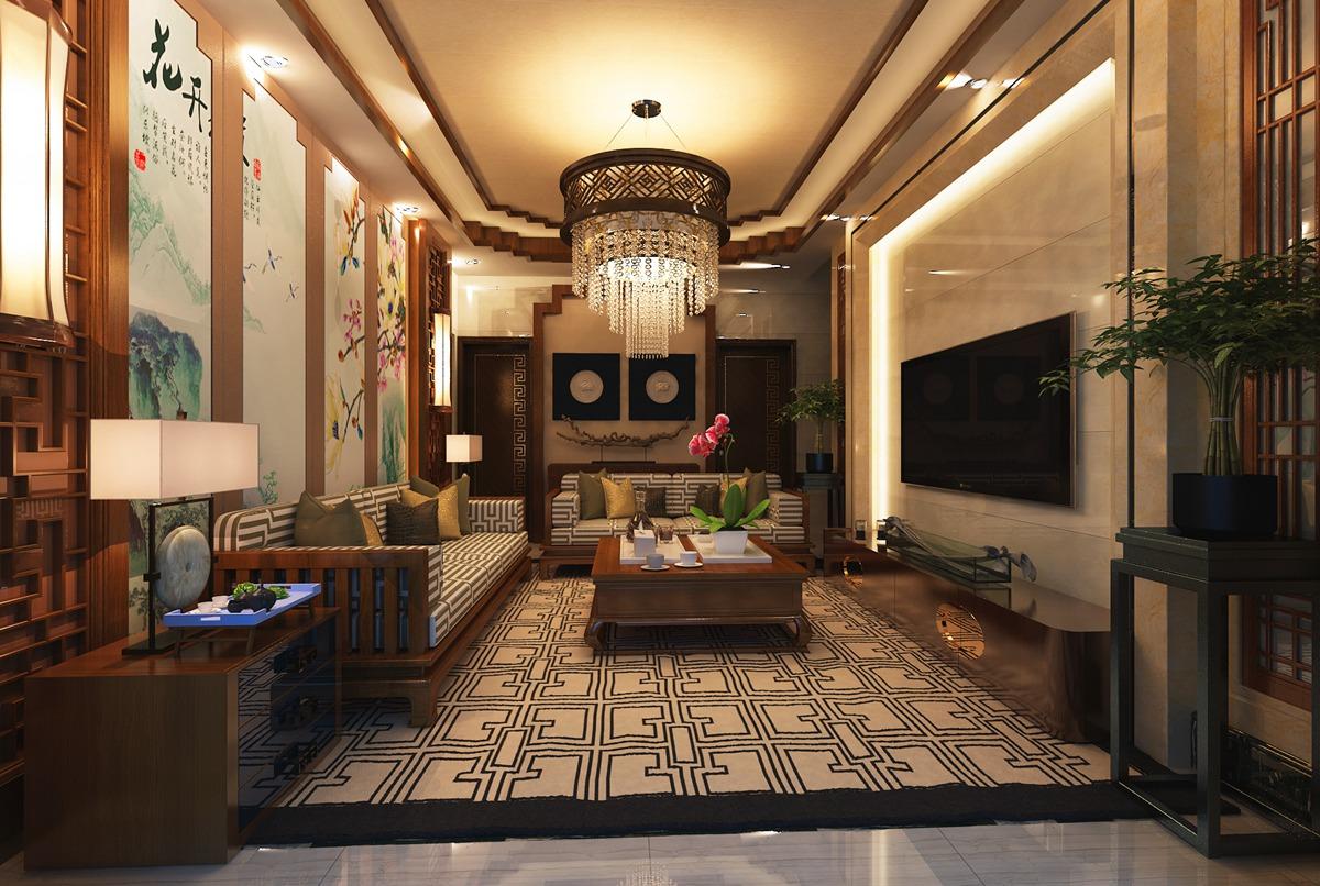 客厅 中式